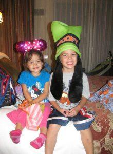 Grand niece & nephew Kara & Maxie