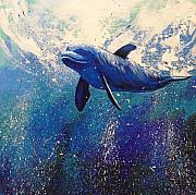 Dolphin by Gayle Etcheverry