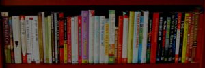 My agent Lisa Hagan's bookshelf!