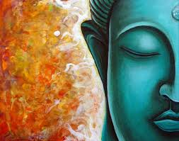 buddha on right by Gayle E
