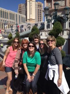 Campbell girls - sisters and nieces at the Venetian in Las Vegas