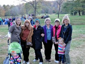 Cousins reunion in North Carolina at the Pumpkin Patch