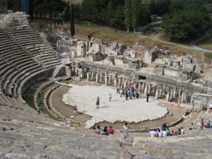 Greek theater at Ephesus