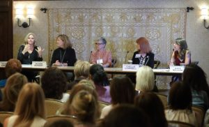 Speaking at the Motion Picture Television Fund Women's Conference