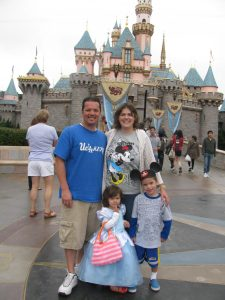 Team Alwag (my niece's family) at Disneyland